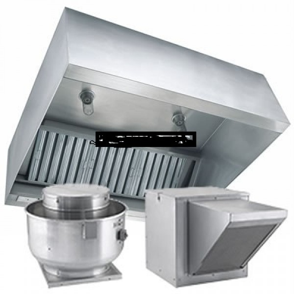 "commercial kitchen exhaust hoods 6'x48"" package - cleaning services"